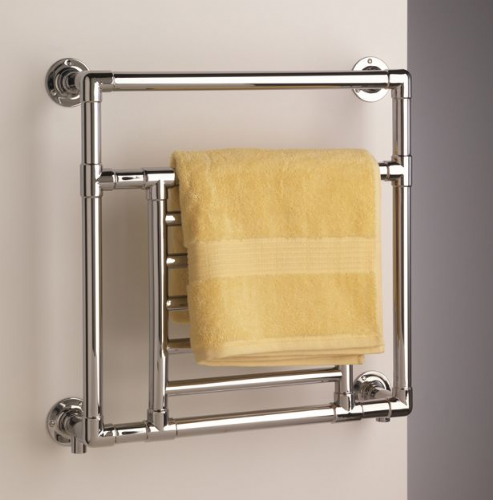 Sterlingham Suite art wall mounted towel rail